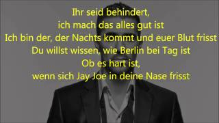 Bushido - Berlin (Lyrics on Screen)