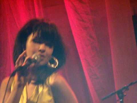 Maria Mena-I Was Made For Lovin' You[Paradiso Amsterdam 04-11-08]