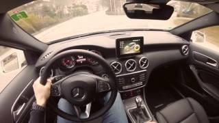 2017 mercedes a180 testdrive and german autobahn