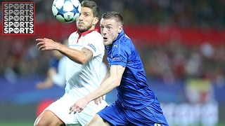 Sevilla 2-1 Leicester City [Vardy Grabs First Champions League Goal]