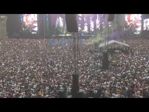 Stone Roses ... Wembley... 17/6/17 Mersey Paradise