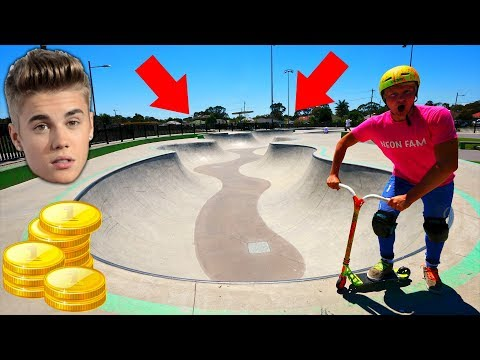 RIDING THE RICH KIDS SKATEPARK OF AUSTRALIA!