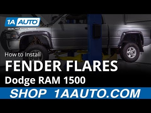 How to Install Fender Flares 94-02 Dodge RAM 1500