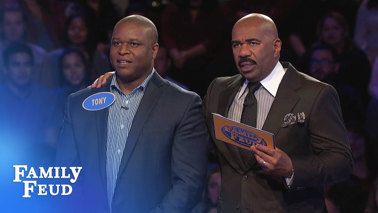 Can Tony COMEBACK on his FINAL ANSWER? | Family Feud