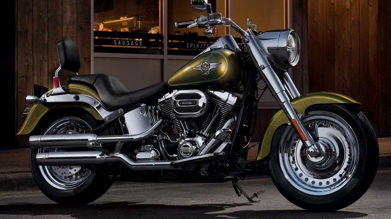 Hot News    2017 Harley Davidson Fat Boy Review