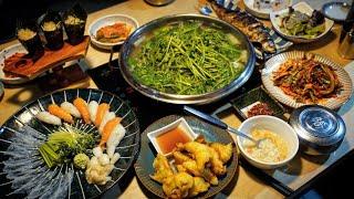 15000원에 복어회, 복초밥, 복껍질, 복튀김, 복지…