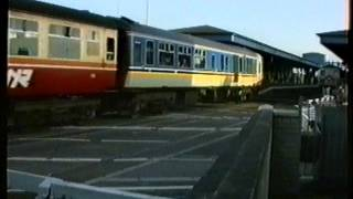 80 Class 82, 86 & 87. Coleraine evening rush.