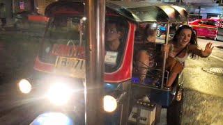 RACING TUK TUKS TO PING PONG SHOW 🇹🇭 (BANGKOK, THAILAND)
