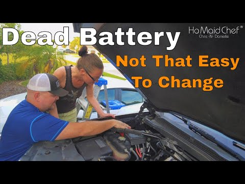 How To Replace Battery Chevy Silverado, GMC Sierra – 2014 To 2019