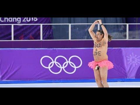 La gazette des JO ail et curling, tutu et patinage, Fourcade et porte dr apeau