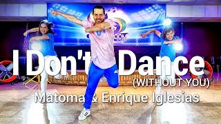 I Don't Dance (cover)- Matoma & Enrique Iglesias l dance l chakaboom fitness l choreography