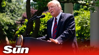 Trump announces new policies for seniors with diabetes at the White House Rose Garden