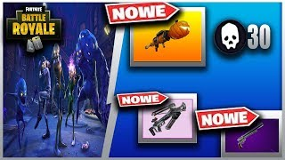 CZY TO SEZON 7? EVENT HALOWEEN! NOWA KUSZA I PISTOLET W FORTNITE!