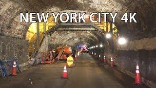 New York City 4K - 1830's Tunnel Drive