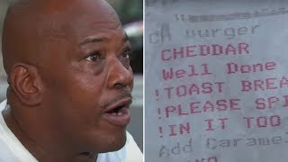 When A Man Saw A Message On His Restaurant Receipt He Instantly Felt Sick To His Stomach