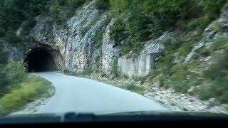 Наше путешествие. Дороги Черногории парк-Дурмидор(Удивительная красота, не вероятные серпантины в Черногории. Меньше слов больше наслаждения природой!, 2015-05-06T08:02:30.000Z)