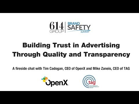 Fireside Chat: Building Trust in Advertising Through Quality and Transparency