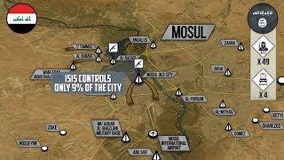 16 мая 2017. Военная обстановка в Ираке. Контроль границы между Сирией и Ираком. Русский перевод.
