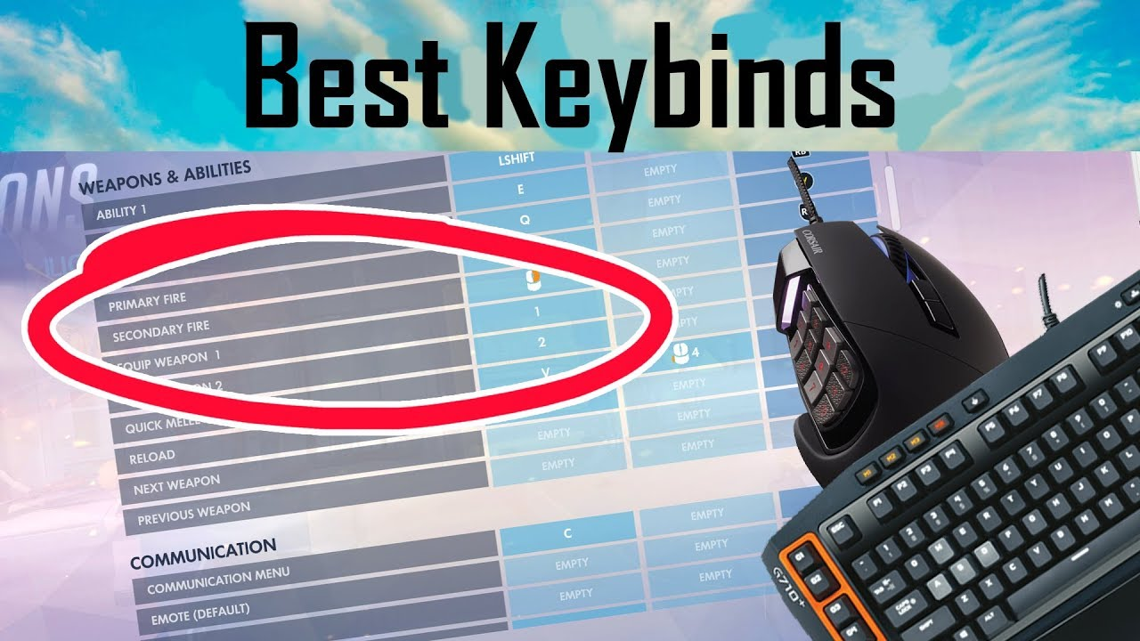 Top 5 Useful Overwatch KEYBINDS | Helpful Settings You Can Use To Improve