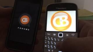 BLackberry 9900 vs iPhone 5C