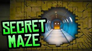 GTA 5 Easter Eggs - Secret Maze Hidden Behind the Mural! (GTA 5 Secrets)