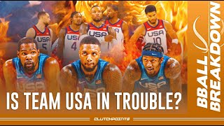 Is Team USA In Trouble?