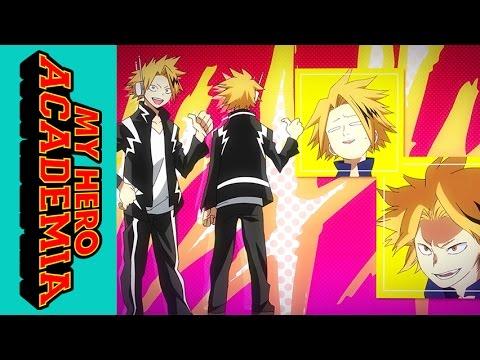My Hero Academia Roll Call Kaminari Denki Youtube