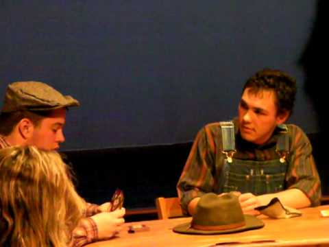 """Of Mice and Men"" - Act 3 The Woodhall School 02/24/13"