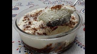 Receita Deliciosa de Mousse Simples com Biscoitos Recheados