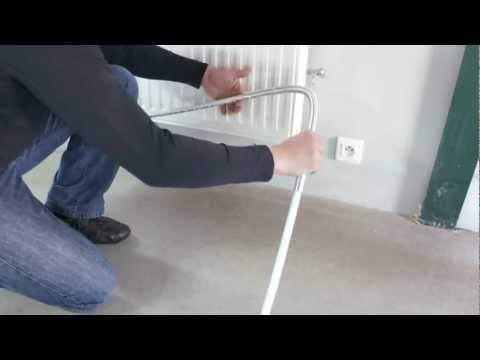 Aquaheat : Installation d'un radiateur. (Tube Multicouche)
