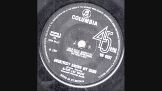 Barry Lee Show - Everybody Knows My Name (UK 1967)
