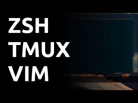 An Awesome Terminal Workflow: Zsh, Tmux, Vim