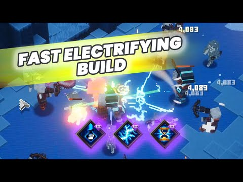 Agile Electrifying Roll Build | Minecraft Dungeons Builds