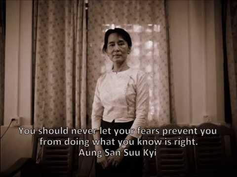 Aung San Suu Kyi quotes ~ Αούνγκ Σαν Σου Κι, πολιτικός & ακτιβίστρια..