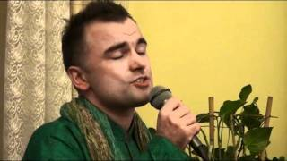 "Michal Rudas - singer. Ghazal from ""Music of India"" by Janusz Krzyzowski"