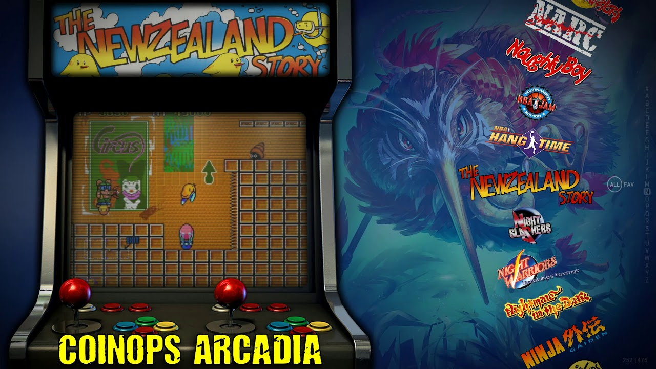 CoinOPs : Arcadia