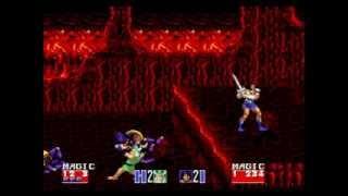 Golden Axe II (SEGA Genesis / MegaDrive) 2 player full playthrough