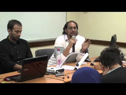 Learning from Cairo: presentation by Yahia Shawkat: Working Session 2