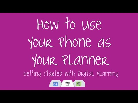 How To Use Your Phone As Your Planner - Getting Started with Digital Planning - MiddleOfTheRide