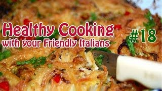 Spaghetti Frittata .:. Healthy Cooking With Your Friendly Italians #19