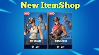 Fortnite Item Shop 6.8.19 I Two New SKINS + Pickaxe I Fortnite Battle Royale SHOP