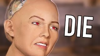 Sophia the robot wants to take over and she's bald Second Channel: ...