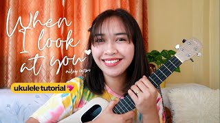 When I Look At You (Miley Cyrus) Ukulele Tutorial | Jaytee Taquiso Official