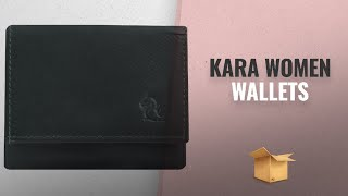 Top 10 Kara Women Wallets [2018 Best Sellers]: Kara 8010 Olive Trifold Style Wallet