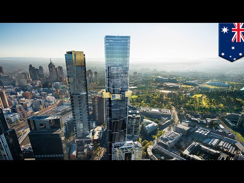 Melbourne's Tallest Skyscraper Under Construction - TomoNews