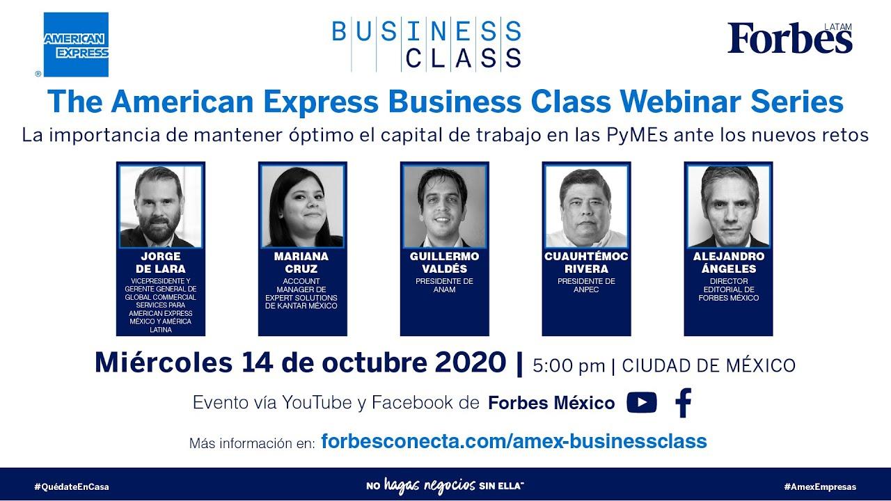 El capital del trabajo y las pymes ante la 'nueva normalidad' | AMEX Business Class