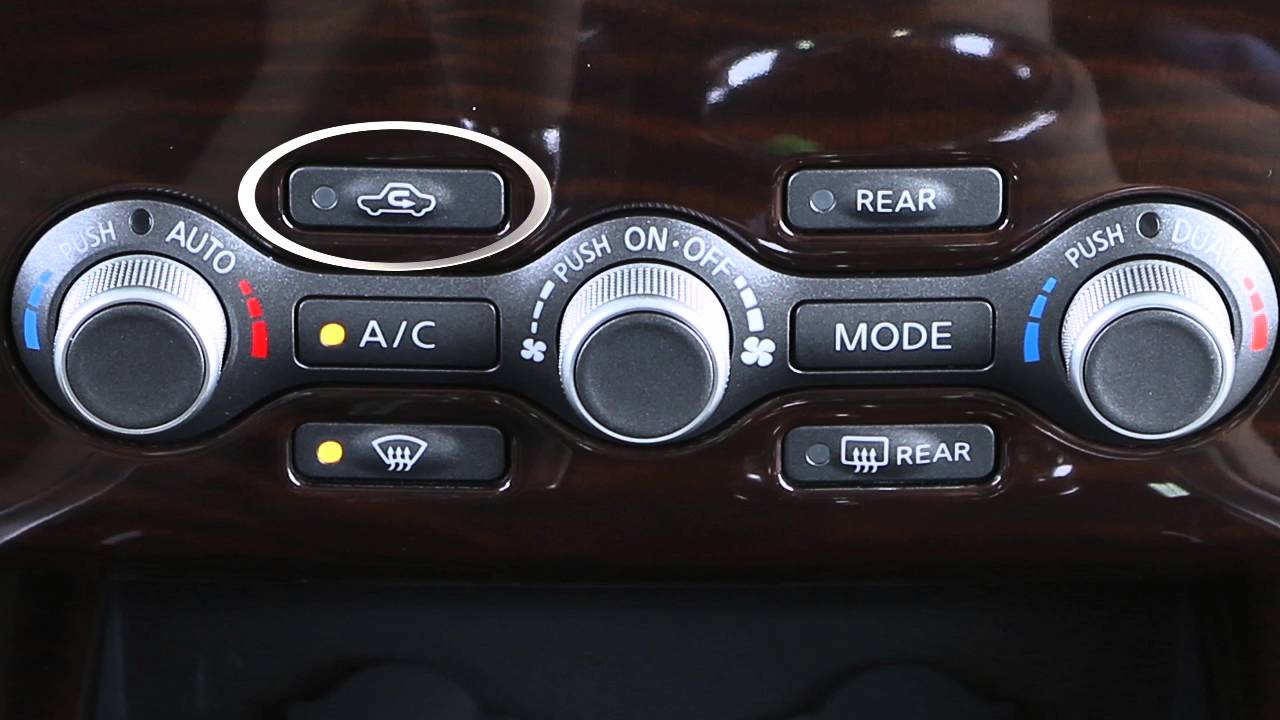 2016 NISSAN Pathfinder - Heater and Air Conditioner