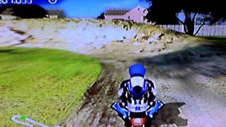 Pocket Bike Racer Backyard Track Trick