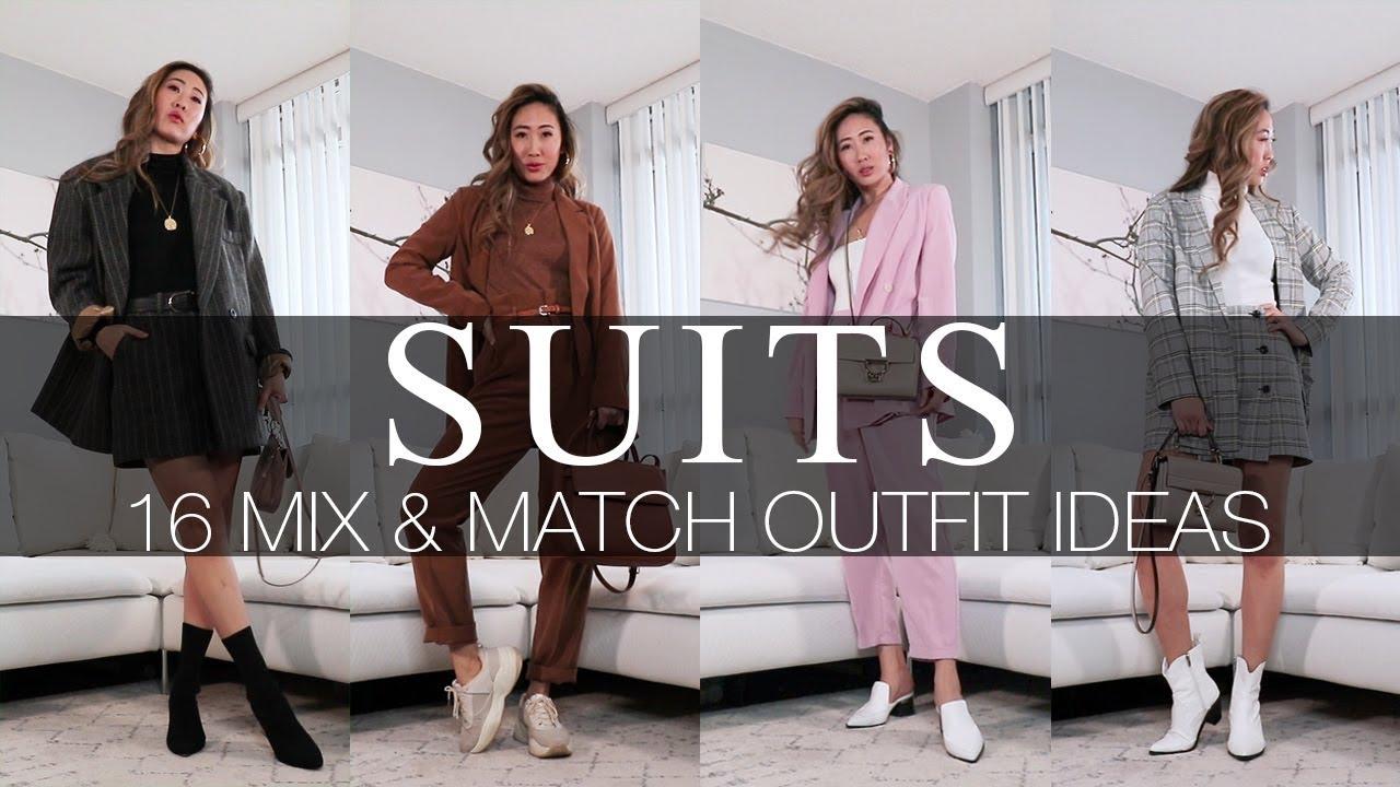 [VIDEO] - SUITS | 16 MIX & MATCH OUTFIT IDEAS 1
