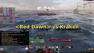 ArcheAge PvE - Red Dawn vs Kraken